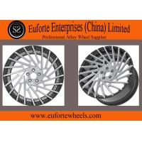 Buy cheap Engraving Red Forged Replica Wheels / Auto Wheels Rims/ Mecerdes Benz C Class Forged wheels from wholesalers