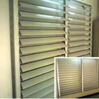 Buy cheap Blind / Shutter Industrial Aluminum Profile , Louver / Jalousie Extrusion Profiles product