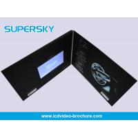 Buy cheap Promotional LCD Video Brochure Free USB Cable Video Booklets With Durable Battery from Wholesalers