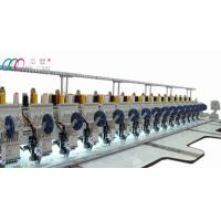 Industrial Computerised multi needle sequin embroidery machine for fabric