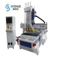 Buy cheap 4 Spindle Cabinet Door CNC Wood Cutting Machine , Cnc Mill For Woodworking product