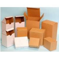 Buy cheap Hard White Corrugated Boxes For Shipping / Moving , UV Coating ISO 9001 Approved product