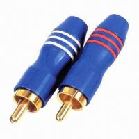 Buy cheap RCA plugs, suitable for 24k gold-plated metal shell product