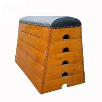 Buy cheap Traditional Kids Gym Pommel Horse / Gym Vaulting Boxes Manchurian Ash Wood Material product