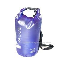 Buy cheap Water-Resistant 10L Blue PVC  Dry Tube Bag , Travel Dry Backpacks with Adjustable Shoulder Strap product
