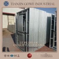 Buy cheap Steel Galvanized quick scaffold systems / tubular welded frame scaffold from Wholesalers