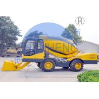 Buy cheap Limited Site Self Concrete Mixer Machine , Mobile Ready Mix Concrete Truck product