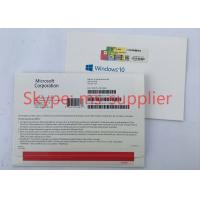 China French Windows 10 Proffesional OEM Software 64 Bit Media Drive Online Activation Globally Version on sale