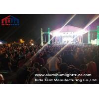 Buy cheap Square Aluminum Stage Lighting Truss  400 X 400 mm / Concert Truss System product