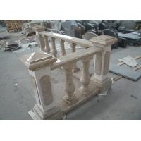 Buy cheap Yellow Natural Building Stone Railings G682 Granite Balusters Indoor Decoration product