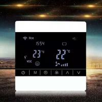 Buy cheap Screen Touch LCD Fan Coil Unit Thermostat Ceiling Mount Energy Saving product