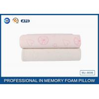 Buy cheap Comfort Children Ventilated Contour Cloud Memory Foam Pillow , Health Cotton Cover Pillow product