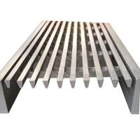 Buy cheap wedge wire drain dewatering screen panels product