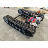Buy cheap Rubber Track Undercarriage chasiss 1-10T for Construction equipment spare parts product