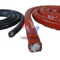 Silicone coated fiberglass rope