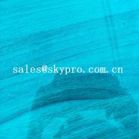 Buy cheap High Density PVC Plastic Sheet Transparent Blue Soft Super Thin Flexible product
