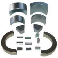 NdFeB Segment / Arc Magnet with N35, N38 grade NiCuNi,Epoxy coated for Servo motors