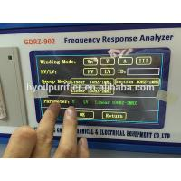 Frequency Response Analyzer : Gdrz automatic transformer frequency response fra