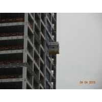 Buy cheap Overload Protection FC Rack Pinion Lift Material Hoist Construction product