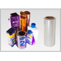 Buy cheap High Shrinkage PET Shrink Film For Packing Wrapping Cookies Customized Size product