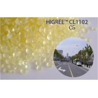 China Low Odor Thermoplastic C5 Petroleum Resin For Road Making Paint CL1102 on sale