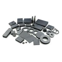 China Customized Hard Barium Ceramic Ferrite Magnets Low Cost For Industrial Field on sale
