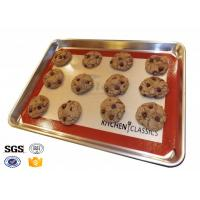 Buy cheap Heavy Duty Oven Silicone Baking Sheet Dishwasher Safe 40cm X 50cm product
