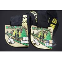 Buy cheap Trail Races Metal Custom Sports Medals, Marathon 5K 10k Medallions, Printing Or Sublimated Ribbon product