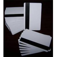 China Blank PVC Magnetic Card on sale