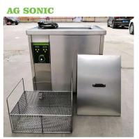 Buy cheap 1.5KW 40Khz 60L Industrial Air Filter Cleaning Machine With Heating Element product