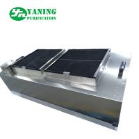 Buy cheap Stainless Steel Cleanroom Ffu , Ceiling Mounted Hepa Filter Unit With Double Fan product