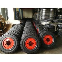 Buy cheap Forklift Spare Parts Rubber Tires Industrial Tire product