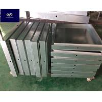 Buy cheap Anti Corrosive Stamped Steel Parts / Metal Fabrication Parts OEM / ODM Available product