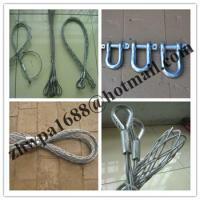Buy cheap Double-head, single strand Cable grip,Cable socks,Pulling grip,Support grip product