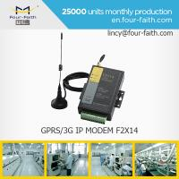 Buy cheap F2114 GPRS sim card MODEM with serial port support RS232/485 for meter monitoring product