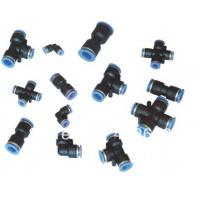 Air fittings pneumatic connector plastic
