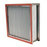 China High temperature hepa filters High Temperature Resistance hepa for food factory on sale