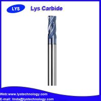 Buy cheap Roughing end mills cutter / carbide ball end mill / solid carbide end mill product