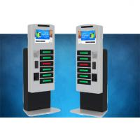 Buy cheap Fast Charging High Secure Cell Phone Charging Stations For Tablet Pc With LCD product
