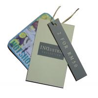 Buy cheap Customized Clothing Hang Tags Offset Printing 4 Colors Matt Coated For Collection product