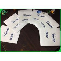 Buy cheap 105gsm - 0.275mm Thickness Tyvek Printer Paper 1082D For Offset Printing product