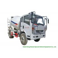 Buy cheap HOMAN 4x2 Mobile Concrete Mixer Truck For Transport With 4m3 Load Capacity product