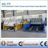 Buy cheap Automatic Toilet Tissue Paper Making Machine product