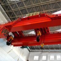 Buy cheap Double girder electric travelling overhead crane 50 ton product