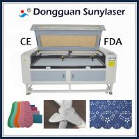 Buy cheap High Speed Laser Cutting Machine for Fabric Laser Cutter for Fabric Dual 80w product