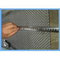 Buy cheap High Tensile Woven Mining Screen Mesh Square Hole 2.0mm Wire Diameter With Hooks product