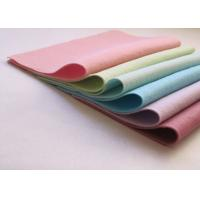 Buy cheap Pink Green Non Woven Polyester Felt Fabric Sheets Needle Punched Technics product