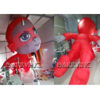 Buy cheap CE Certificated Outdoor Giant Advertising Inflatables Red Inflatable Hero Cartoon product