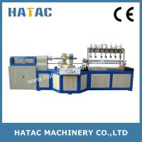 Buy cheap 5 Blades Paper Tube Slitting Machinery,Paper Straw Making Machine,DTY Paper Core Machine product