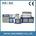 Buy cheap Multi-blade Bond Paper Core Making Machine,POY Paper Tube Cutting Machinery,Paper Straw Making Machine product